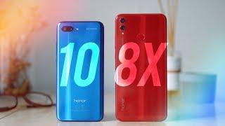 Honor 10 против Honor 8X. Что покупать? [4k]