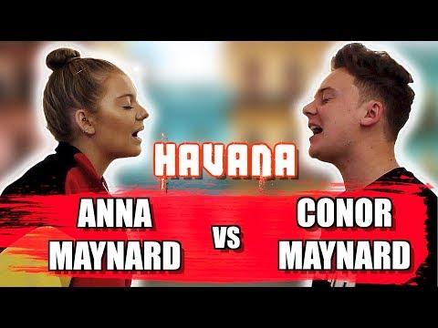 Havana Sing Off Cover [Feat. Anna Maynard]