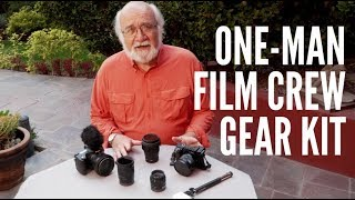 Gear Kit For One Man Documentary Film Crew with Bob Krist