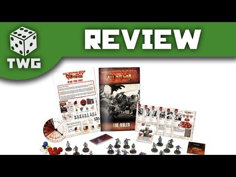 The Walking Dead All Out War: Starter Set Unboxing