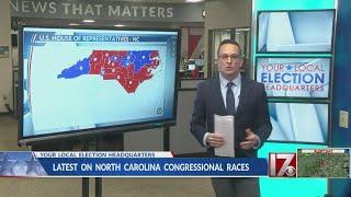 Update on North Carolina Congressional races