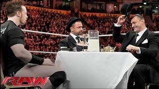 Santino Marella & Vladimir Kozlov host a tea party with Sheamus in England: Raw, Nov. 8, 2010