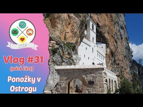 Vlog #31 | Tour de Balkan | část pátá | Ponožky v Ostrogu (5/8)