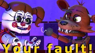 Baby Foxy Too Angry [FNAF SFM] Animation Five Nights At Freddy's