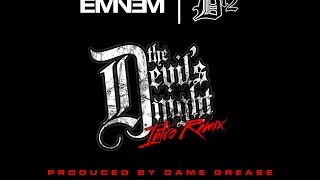 Eminem version 1 - The Devils Night Intro Remix by Dame Grease (Audio)