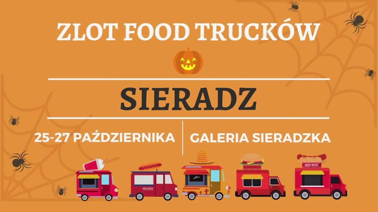 Zlot Food Trucków w Sieradzu – ogłoszenie