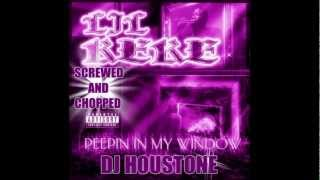 Lil Keke - Peepin in My Window Screwed and Chopped By ( DJ Houstone )