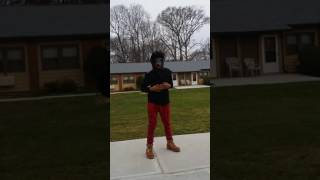 Beg for it by Chris Brown dance blind folded. April 3, 2017