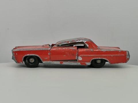 Matchbox Series No 22 Pontiac G.P Sports Coupe – Restoration Video