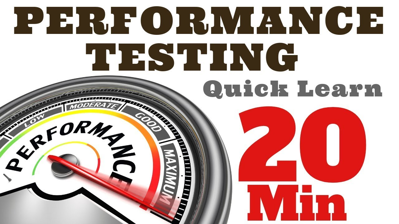 Performance and load tests explained