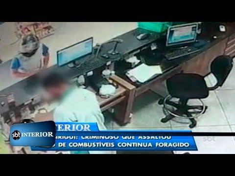Bandido que assaltou posto de combustíveis em Birigui continua foragido