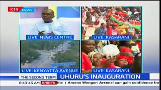 Uhuru's inauguration,Jubilee government,swearing in ceremony,NTV,Citizen News Kenya,politics,electio