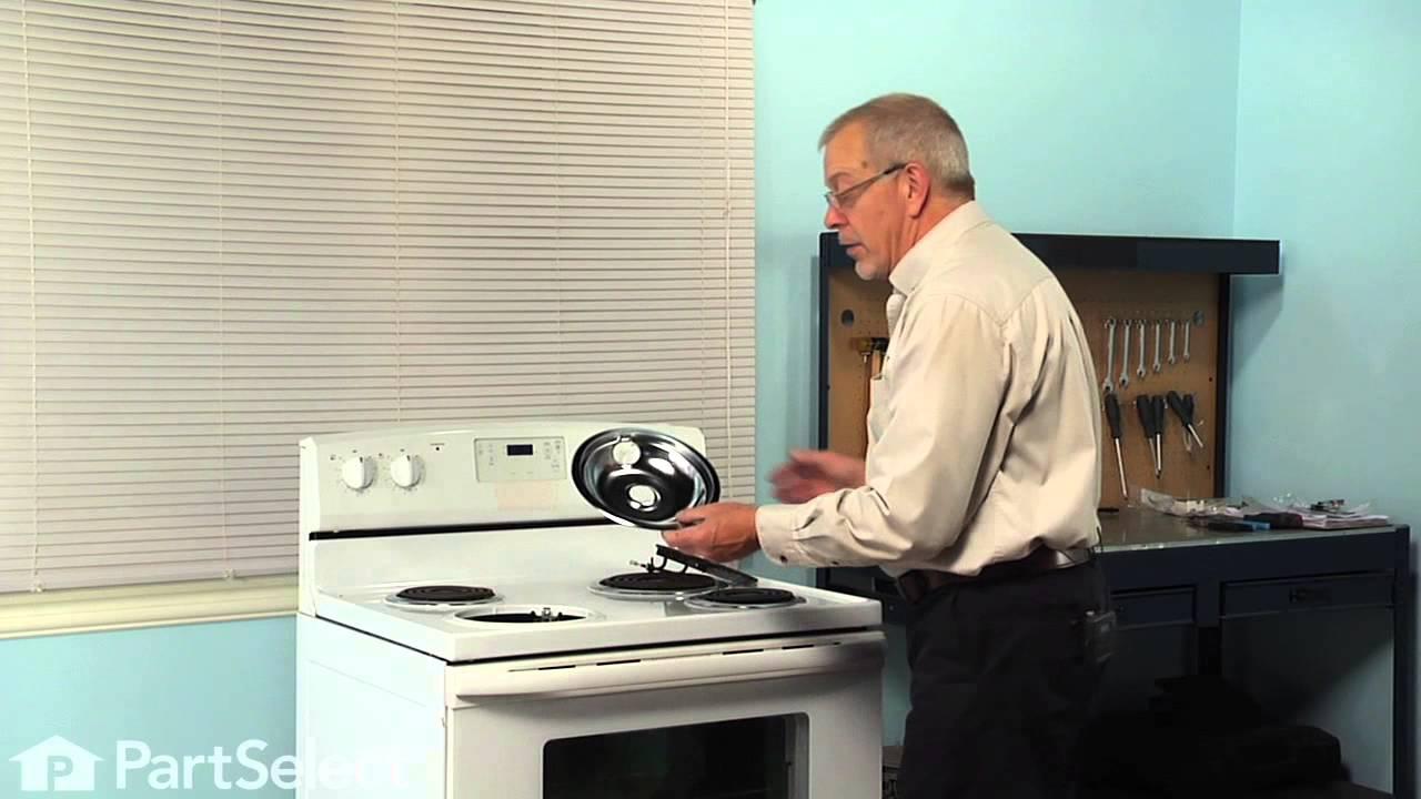 Replacing your Whirlpool Range Chrome Drip Bowl - 8 inch