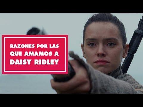 Razones por las que amamos a Daisy Ridley | Oh My Disney