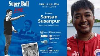 LIVE Berbagi Cerita & Pengalaman Pelatih Fisik Madura United Sansan Susanpur