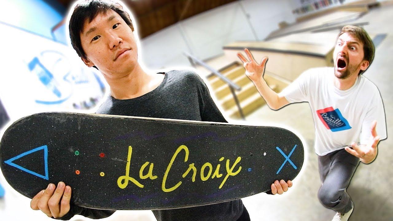 MOST UNIQUE SKATEBOARD TRICKS EVER! - Braille Skateboarding