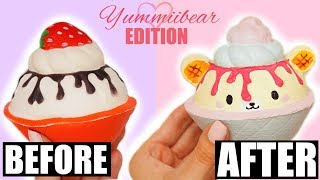 REDECORATING SQUISHIES #9 *YUMMIIBEAR EDITION*