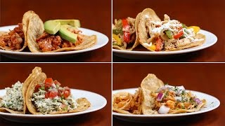 Chicken Tacos 4 Ways