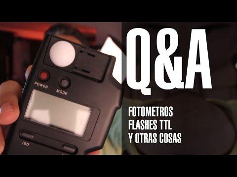Preguntas y respuestas Fotómetros, Flashes TTL y otras cosas by FerFlo