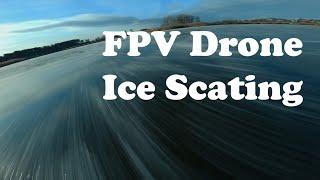FPV Drone Ice Skating / Васильевкий Байкал