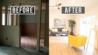 Complete House Flip Before And After - $40,000 Profit