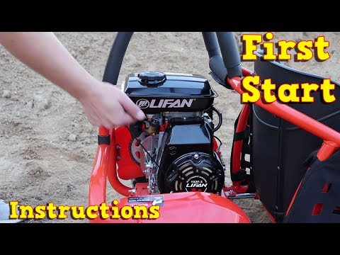 Lifan 80cc 4 Stroke - First Start - Instructions - GoKid Buggy from Nitro Motors