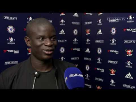N'GOLO KANTE: Important win