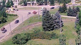 ДТП (авария г. Волжский) ул. Карбышева ул. Энгельса 20-06-2017 10-41