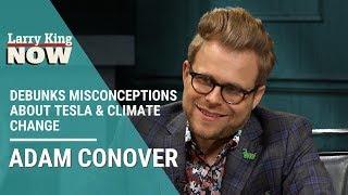 Adam Conover debunks misconceptions about Tesla & climate change