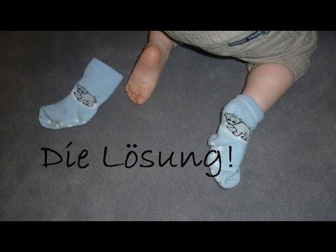 DMz: Rutschende Babysocken... was tun?
