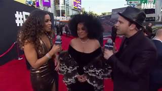 Diana Ross & Jordin Sparks in the years-