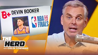 Colin Cowherd hands out grades for the NBA Finals | NBA | THE HERD