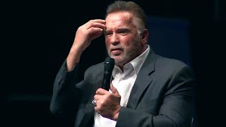 Speech that broke the internet - Arnold Schwarzeneggers Most Inspirational Speech [ORIGINAL]