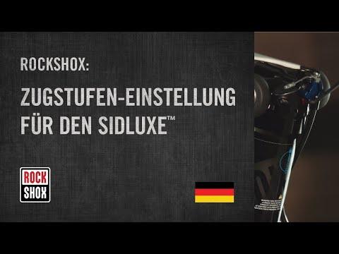 Zugstufen-Einstellung für den SIDLuxe™