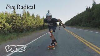 Skating Downhill at 70 Miles Per Hour | Post Radical
