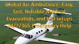 Global Air Ambulance from Tatanagar at Economic-cost