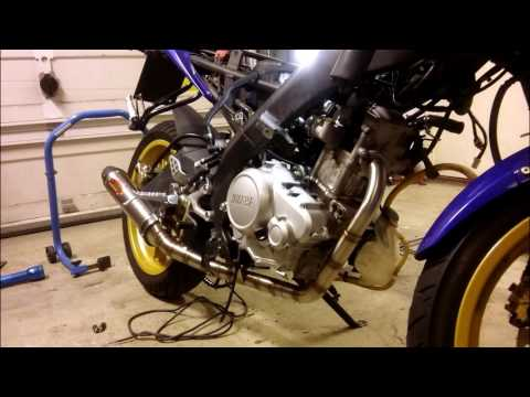 Yamaha Yzf-r125 (250cc) Tuning Story
