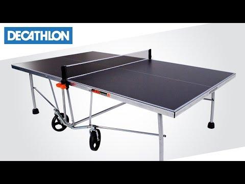 Come montare il tavolo free Ping Pong PPT 530 di Artengo | Decathlon Italia
