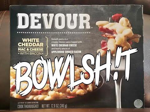 Bowlsh!t - Devour White Cheddar Mac & Cheese w/Bacon