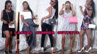 CASUAL SUMMER OUTFITS//Summer Fashion Lookbook 2020(Day to Day) / KENYA