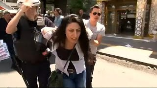 Protesters detained in Turkey as part of government