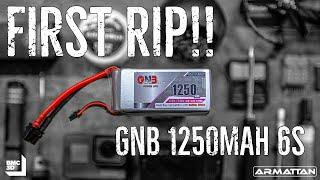 GNB 1250mah 6s First RIP | Armattan Marmotte | FPV Freestyle
