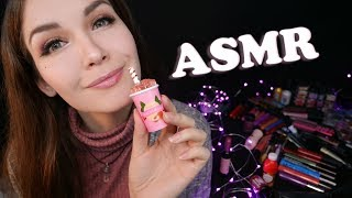АСМР 💄 Шепот, Таппинг и Косметика 👸 | ASMR Whisper, Tapping and Cosmetics  👩