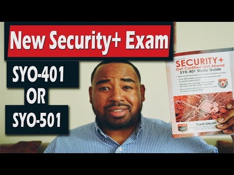 Should you take the Comptia Security+ SYO-401 or SYO-501 ...