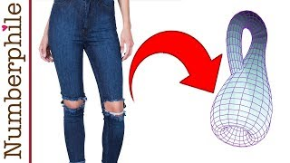 How to make a Klein Bottle from an old pair of jeans - Numberphile
