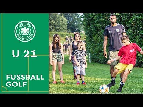 U 21 & Kinder: Begeisterung beim Fußballgolf