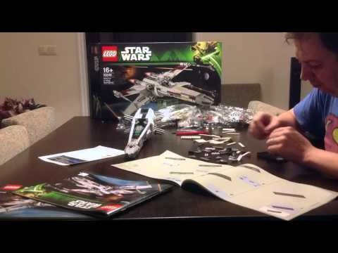 Vidéo LEGO Star Wars 10240 : Red Five X-wing Starfighter