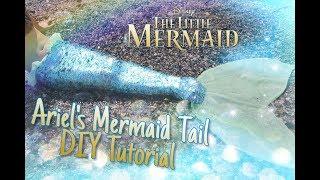 DIY Mermaid Costume - Disneys The Little Mermaid Inspired (Ariels Mermaid Tail)