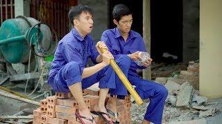 Anh Thợ Xây #9 : Cai Thuốc Lào Không Khó | Phim Ngắn Hài Hước Gãy Media