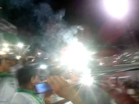 """""""Mafia Verde LIGA DE PORTOVIEJO recibimiento"""" Barra: Máfia Verde • Club: Liga de Portoviejo"""